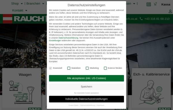 Vorschau von www.rauch.co.at, A. Rauch GmbH