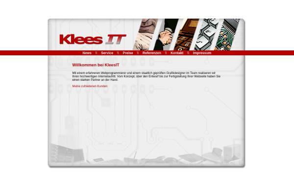 Vorschau von www.kleesit.de, KleesIT