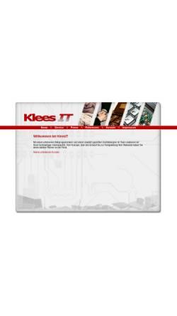 Vorschau der mobilen Webseite www.kleesit.de, KleesIT