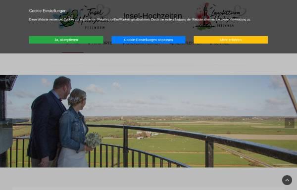 Vorschau von www.leuchtturm-hochzeit.de, Leuchtturmhochzeit - Hochzeit