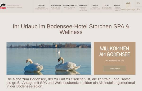 Vorschau von www.bodensee-familienhotel.de, Familien Hotel Storchennest Bodensee