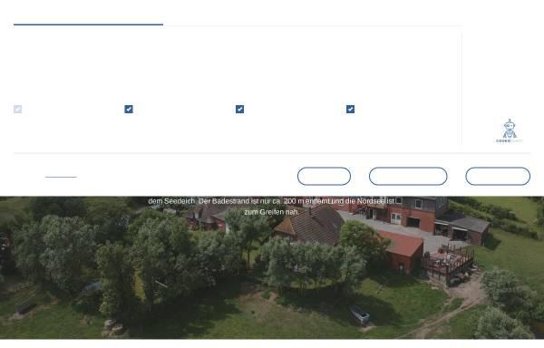 Vorschau von nordseeurlaub-pellworm.de, Ferienwohnungen Arno Petersen