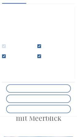 Vorschau der mobilen Webseite nordseeurlaub-pellworm.de, Ferienwohnungen Arno Petersen