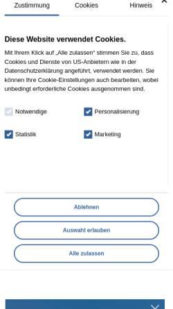Vorschau der mobilen Webseite www.nordsee-hotel-pellworm.de, Hotel Garni Kiek ut