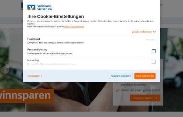Vorschau von www.vb-schwalmtal.de, Volksbank Schwalmtal eG