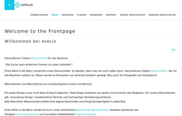 Vorschau von avecio.com, Avecio Design
