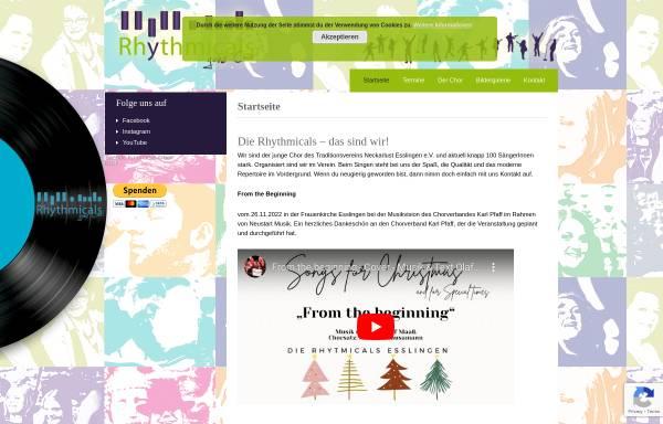 Vorschau von www.rhythmicals.de, Rhythmicals