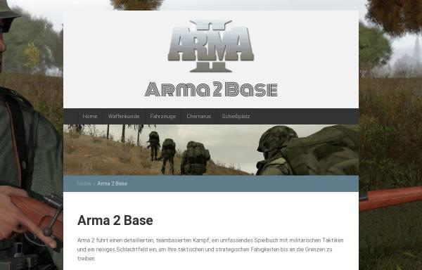 Vorschau von www.arma2base.de, Arma2Base
