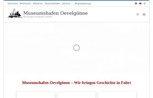Vorschau von www.museumshafen-oevelgoenne.de, Museumshafen Oevelgoenne