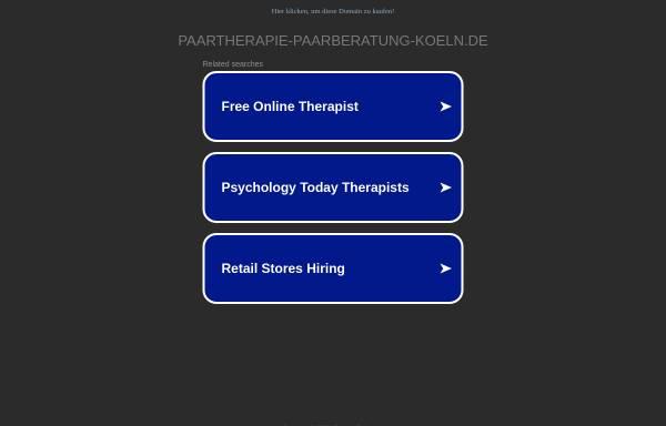 Vorschau von paartherapie-paarberatung-koeln.de, Paartherapie, Paarberatung, Eheberatung Köln
