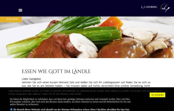 Vorschau von www.l-catering.de, Luft Catering