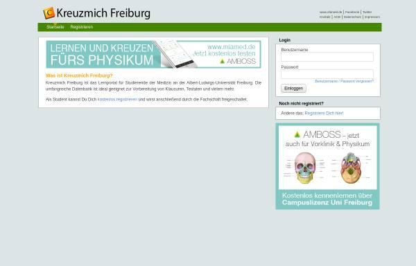Vorschau von freiburg.kreuzmich.de, Cicil-Online