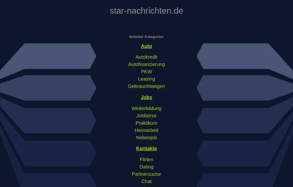 Vorschau von www.star-nachrichten.de, Star-Nachrichten.de