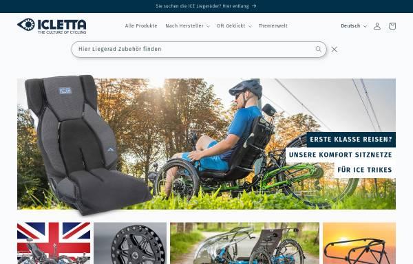 Vorschau von www.icletta.com, Icletta GmbH