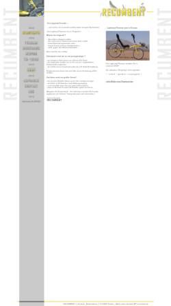 Vorschau der mobilen Webseite www.recumbent.de, Recumbent, Jochen Deutsch