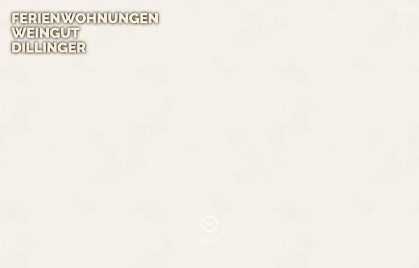 Vorschau von www.dillinger-ferienwohnungen.de, Dillinger Ferienwohnungen