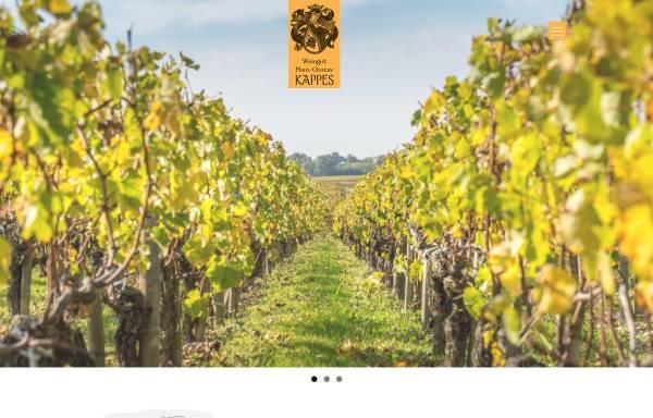 Vorschau von www.fewo-kappes.de, Wein und Gästehaus Kappes