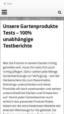 Vorschau der mobilen Webseite www.buga2011.de, Bundesgartenschau Koblenz 2011