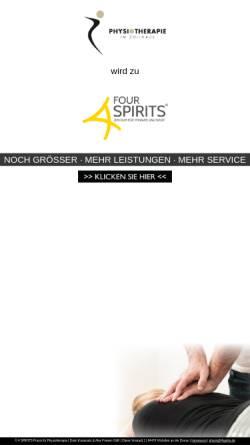 Vorschau der mobilen Webseite physio-zollhaus.de, Physiotherapie im Zollhaus, Dario Karamatic & Alex Friesen GbR
