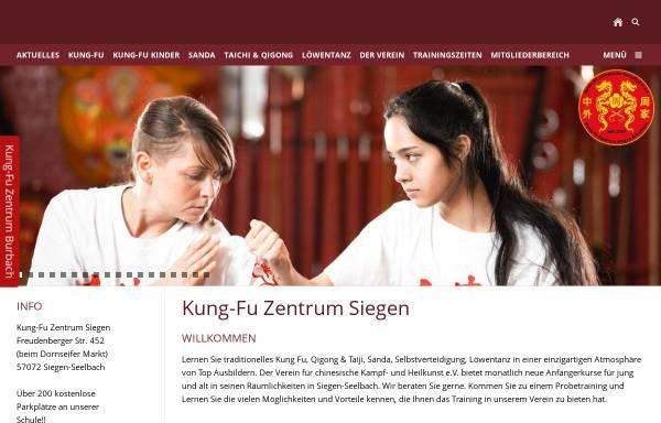 Vorschau von www.kungfu-siegen.de, Kung-Fu im Siegerland