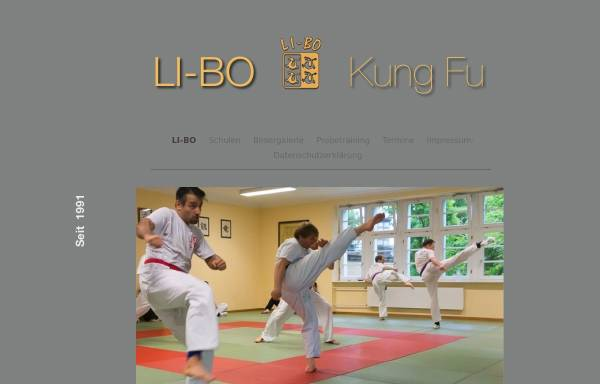 Vorschau von www.li-bo.de, Li-Bo Kung Fu Vereinigung
