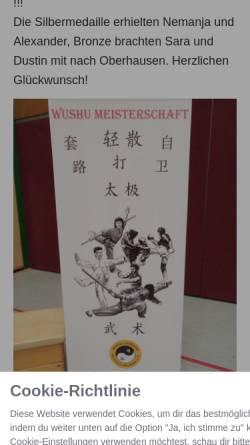 Vorschau der mobilen Webseite www.taochi.de, Tao Chi