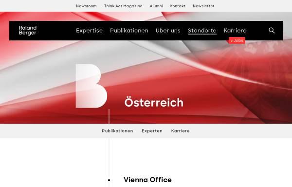 Vorschau von www.rolandberger.at, Berger, Roland Berger Strategy Consultants