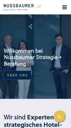 Vorschau der mobilen Webseite www.my-strategy.net, Dr. Christoph Nussbaumer Strategy Consulting