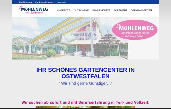 Vorschau von www.gartencenter-muehlenweg.de, Gartencenter Mühlenweg GmbH & Co. Pflanzenhandel KG
