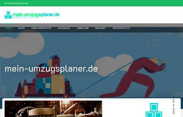 Vorschau von www.mein-umzugsplaner.de, Umzugsplaner