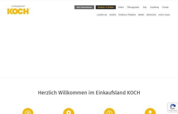 Vorschau von www.koch-einkaufsland.de, G. Koch GmbH & Co. KG - Das Einkaufsland