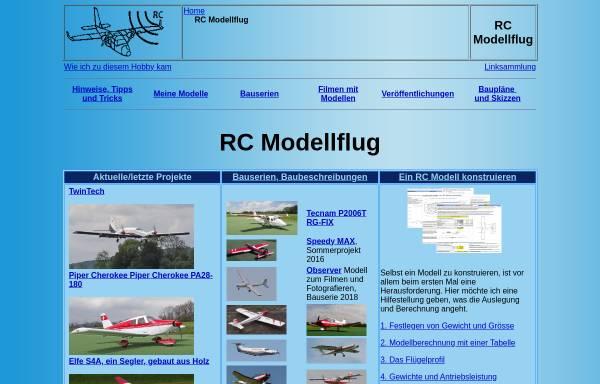 Vorschau von www.ch-forrer.ch, RC Modellflug von Christian Forrer