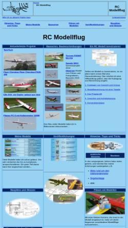 Vorschau der mobilen Webseite www.ch-forrer.ch, RC Modellflug von Christian Forrer