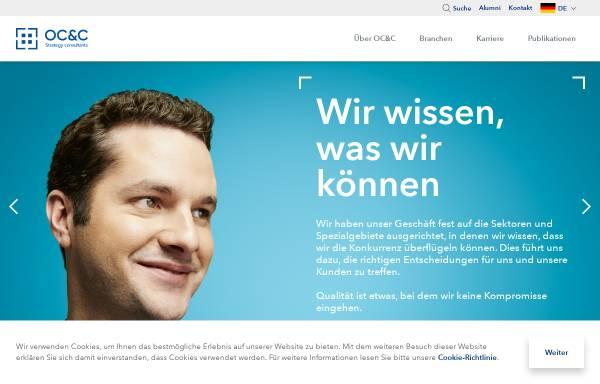 Vorschau von www.occstrategy.de, OC&C Strategy Consultants GmbH