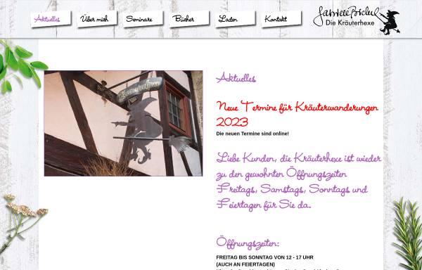 Vorschau von www.kraeuterhexe-galerie.de, Kräuterhexe - Millefolia GmbH