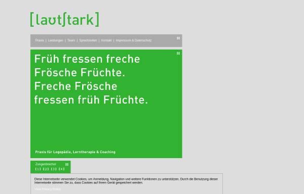 Vorschau von www.praxis-lautstark.de, Lautstark