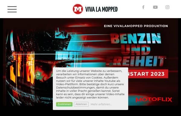 Vorschau von vivalamopped.com, Viva La Mopped - der Video-Blog mit Informationen rund ums Motorad mit Markus Schultze