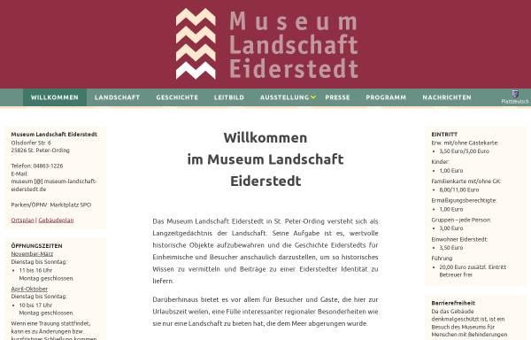 Vorschau von www.museum-landschaft-eiderstedt.de, Museum der Landschaft Eiderstedt