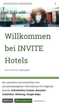 Vorschau der mobilen Webseite www.senator-hotel.de, Apart Hotel Senator