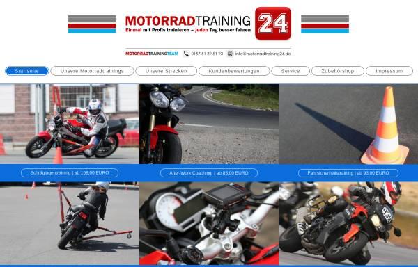 Vorschau von motorradtraining24.de, Motorradtraining24
