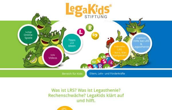Vorschau von www.legakids.net, Legakids