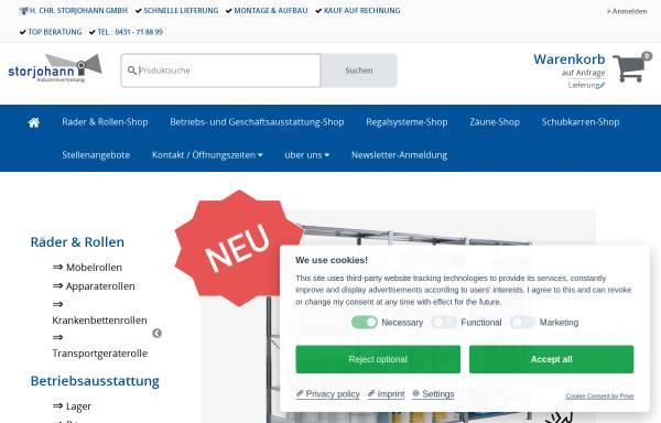 Vorschau von storjohann-kiel.de, H. Chr. Storjohann GmbH