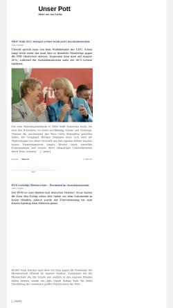 Vorschau der mobilen Webseite www.unserpott.de, Unser Pott