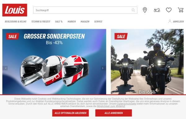 Vorschau von www.louis.de, Detlev Louis Motorradvertriebs GmbH