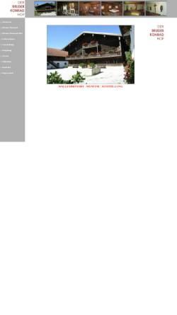 Vorschau der mobilen Webseite www.bruder-konrad-hof.de, Bruder Konrad Hof