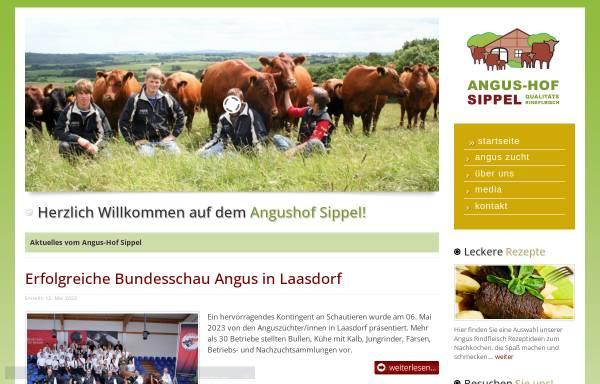 Vorschau von www.angushof-sippel.de, Angushof Sippel