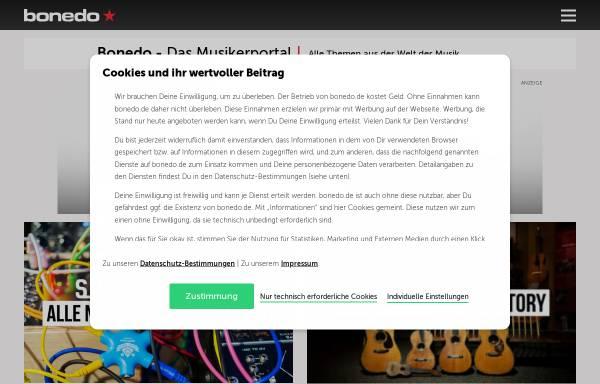Vorschau von www.bonedo.de, Bonedo.de - Deutsches Musikerportal
