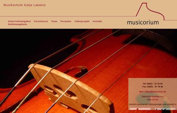 Vorschau von www.musicorium.de, Musicorium