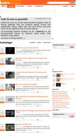 Vorschau der mobilen Webseite www.bendecho.com, bendecho