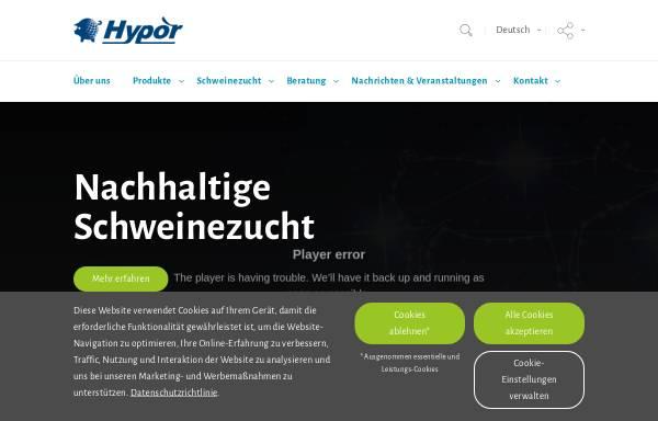 Vorschau von www.hypor.com, Hypor Deutschland GmbH